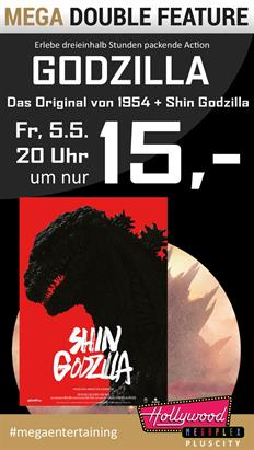 Bild: MEGA Double Feature: Godzilla