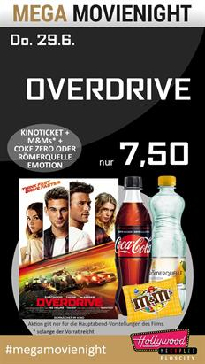 Bild: MEGA MovieNight: Overdrive