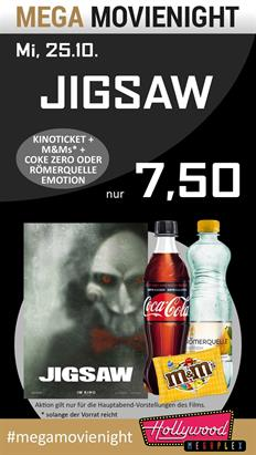 Bild: MEGA MovieNight: Jigsaw