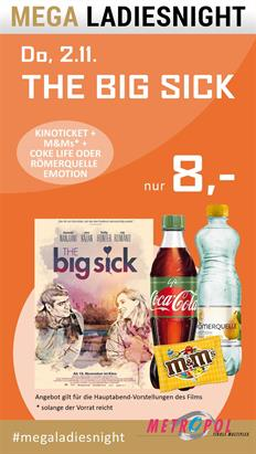 Bild: MEGA LadiesNight: The Big Sick