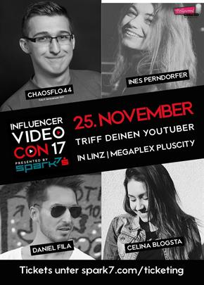 Bild: MEGA Event: Influencer Video Con 2017