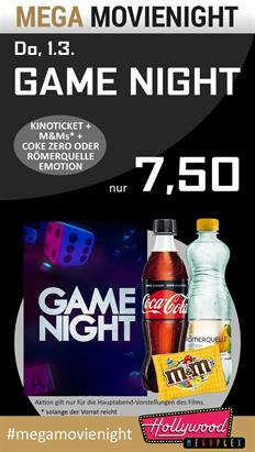 Bild: MEGA MovieNight: Game Night