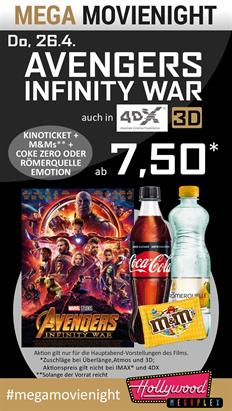 Bild: MEGA MovieNight: Avengers: Infinity War