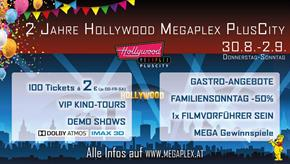 Bild: Happy Birthday: Hollywood Megaplex PlusCity wird 2!