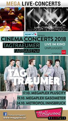 Bild: Hollywood Megaplex Cinema Concerts: Tagtraeumer live & unplugged