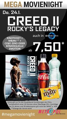 Bild: MEGA MovieNight: Creed II - Rockys Legacy