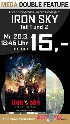 Bild: MEGA Double Feature: Iron Sky