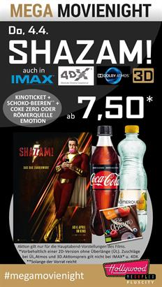 Bild: MEGA MovieNight: Shazam!