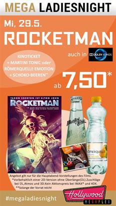 Bild: MEGA LadiesNight: Rocketman