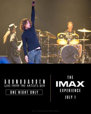 Bild: Soundgarden: Live from the Artists Den in Imax