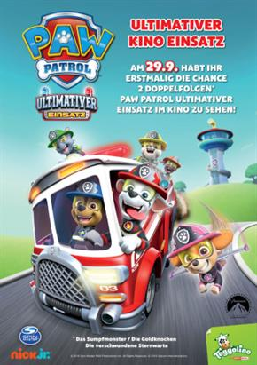 Bild: Familienevent: Paw Patrol – Ultimativer Kino Einsatz