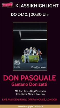 Bild: Live Oper aus London: DON PASQUALE (Donizetti)