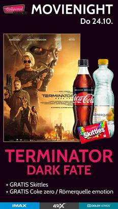 Bild: MovieNight: Terminator: Dark Fate