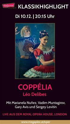 Bild: Live Ballett aus London: COPPELIA (Delibes)