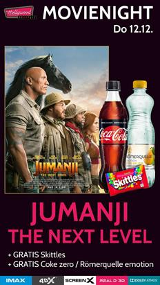 Bild: MovieNight: Jumanji: The Next Level