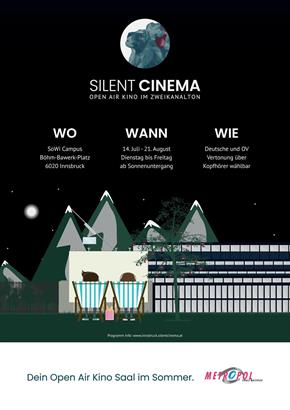 Bild: Silent Cinema Open Air Kino am Sowi Areal